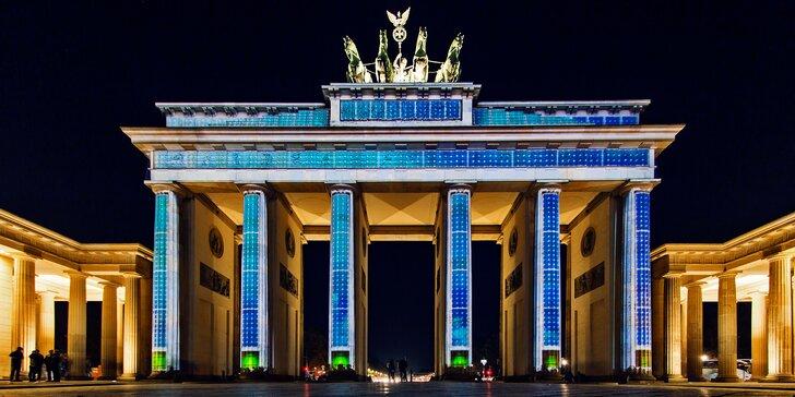 Festival světel v Berlíně se vstupem do muzea veteránů a prohlídkou města