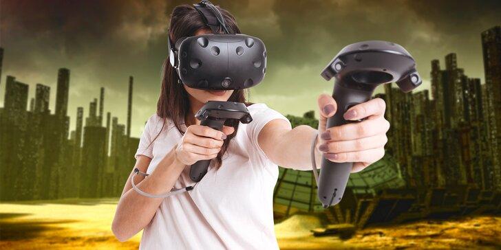 Hodina virtuální reality pro skupinu i jednotlivce: objevujte, pařte, bavte se