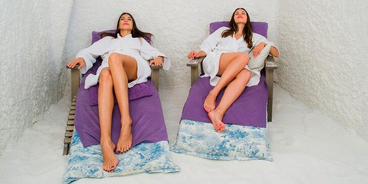 Solná terapie: zdraví prospěšná relaxace v solné jeskyni FN Bory