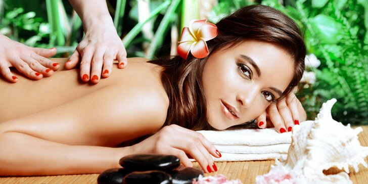 Vyberte si masáž dle vašich potřeb: havajská, liftingová nebo indická