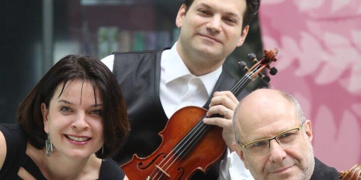 3 CD klasické hudby a 2x vstupenka na koncert Smetanova tria