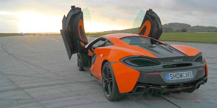 20minutová jízda v supersportu: Ferrari či Lamborghini a mnoho jiných