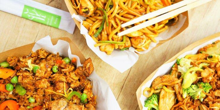 Maníkova čína ve všední dny: vydatná 650g porce z nabídky 14 druhů