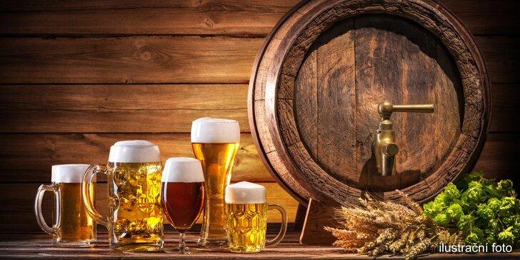 Pěnivé osvěžení: Voucher až na 8 piv z pestré nabídky včetně speciálů