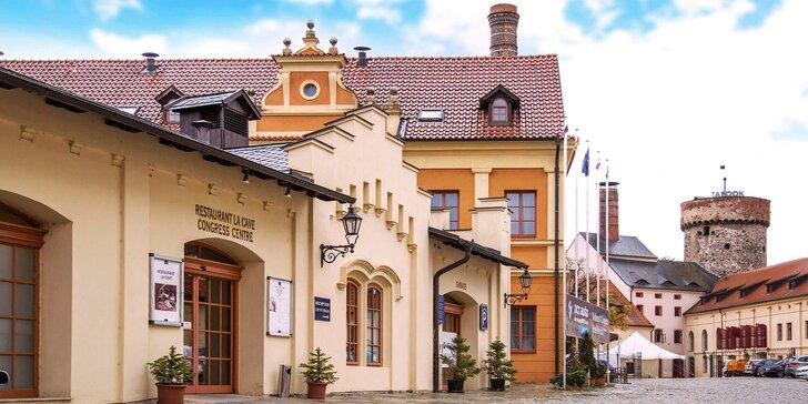 Relax v 4* hotelu v historickém centru Tábora s wellness a skvělou polopenzí