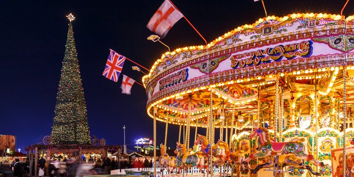 Adventní památkový Londýn včetně trajektu s ubytováním na 1 noc