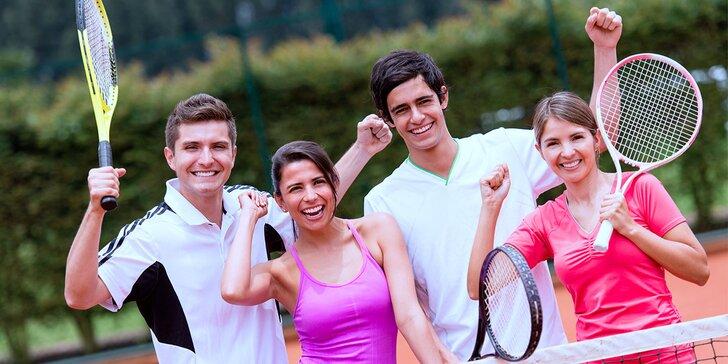 Startovné na 4 měsíce do amatérské ligy - badminton, squash a další