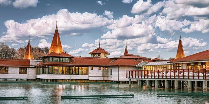 Odpočinek v Maďarsku: Wellness pobyt u termálního jezera Hévíz s polopenzí