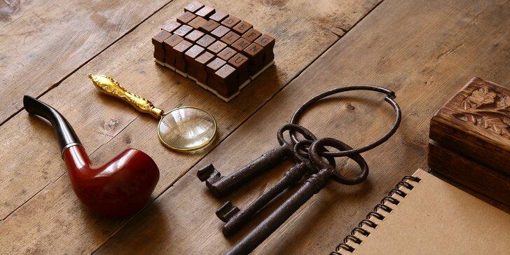 Záhada z Louvru: tajemná únikovka pro dvojici nebo partu detektivů