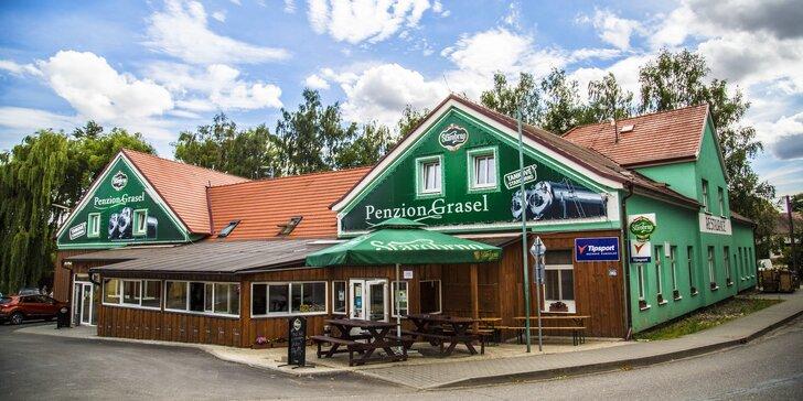 Svatomartinský pobyt u Vranova se svátečním menu, bazénem a vířivkou