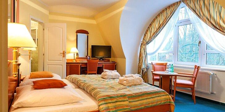 3 pohodové dny v Mariánských Lázních ve 4* hotelu se saunou a polopenzí