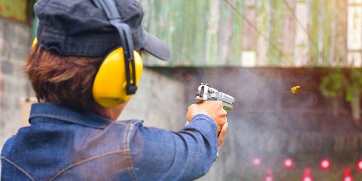 Dobrodružství na střelnici: 9 balíčků včetně dětského, až 20 zbraní