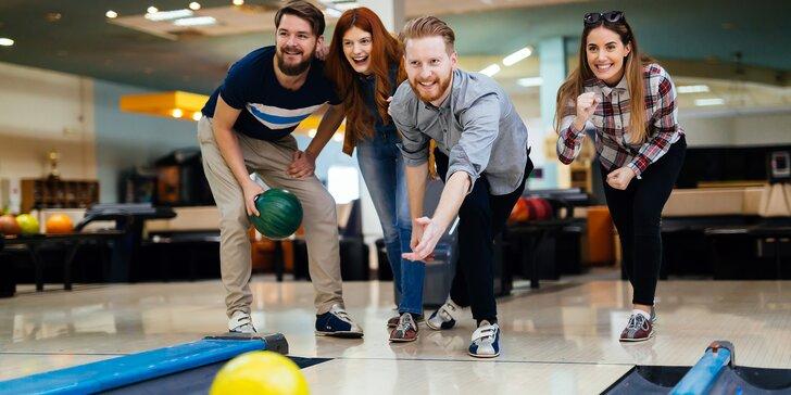 Vykutálená zábava na 1 nebo 2 hodiny: bowling až pro 8 osob