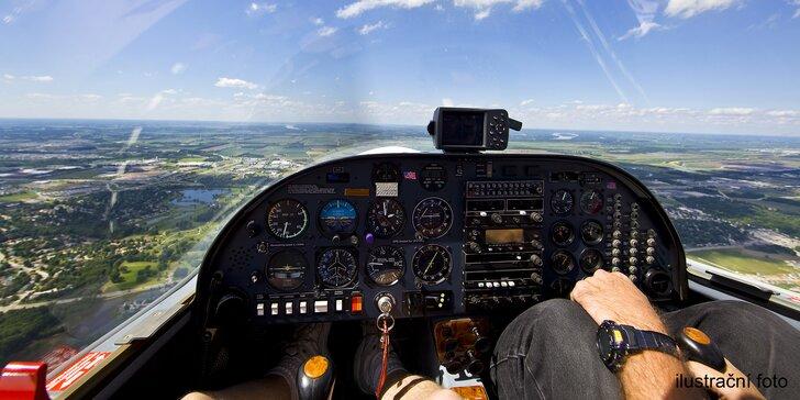 Vydejte se vstříc oblakům: 20minutový let nad Plzní a okolím