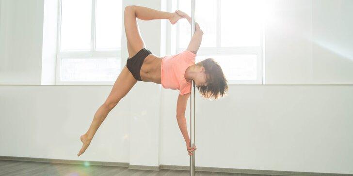 Tančete: 3měsíční kurzy aerial hoop nebo pole dance pro začátečníky