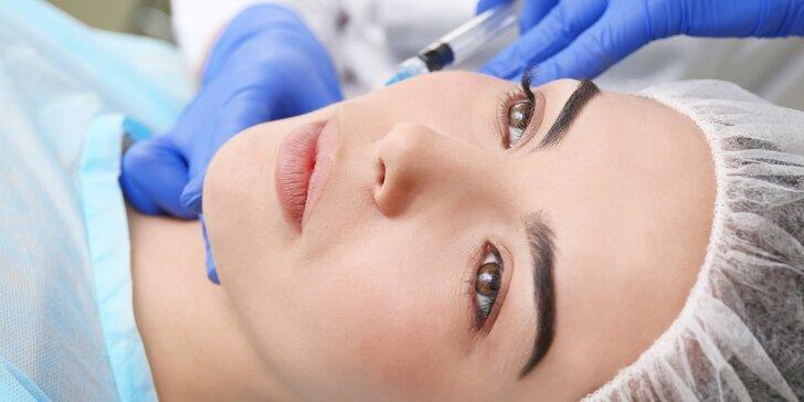 Skinbooster rejuvenace kyselinou hyaluronovou