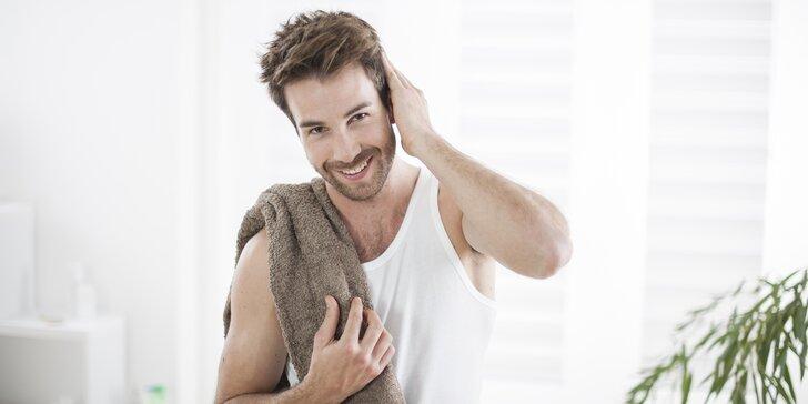 Kosmetické ošetření pleti pro muže s masáží, nebo peelingem Biodroga