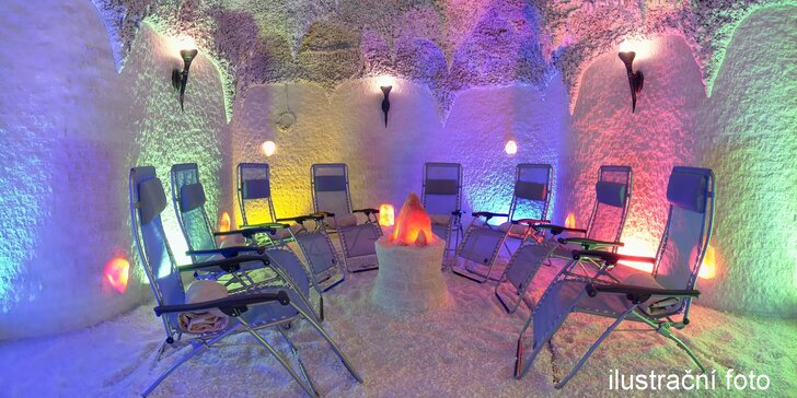 Relaxace v solné jeskyni: 2x jednorázový vstup nebo vstup pro dva