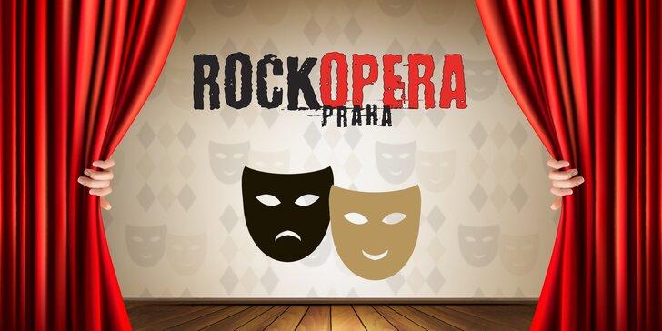 Řízná hudební show: 40% sleva na 2 vstupenky na vybraná představení v RockOpeře