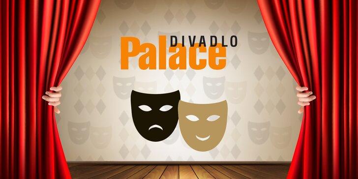 30% sleva na vstupenky do Divadla Palace: Pobavte se na skvělých komediích