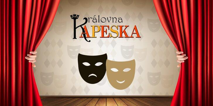 Sleva 25 % na dopolední představení v Hybernii: muzikál Královna Kapeska