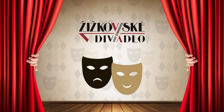 40% sleva na 2 vstupenky na představení v Žižkovském divadle Járy Cimrmana