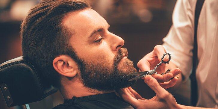 Dárek pro gentlemany: voucher do barbershopu v hodnotě 600 Kč