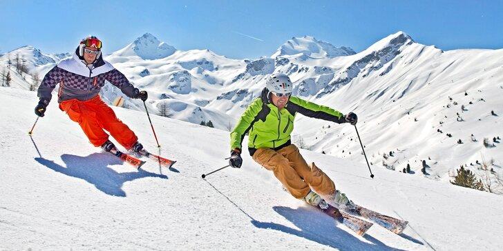 Prosincové lyžování v Bormiu: doprava, polopenze a skipas v ceně