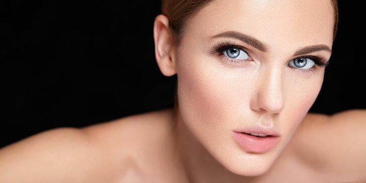Vylaďte tvář k dokonalosti: úprava a barvení obočí i řas vč. depilace rtu