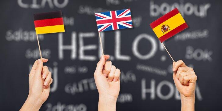 Kurzy v centru: španělština, němčina i angličtina pro začátečníky