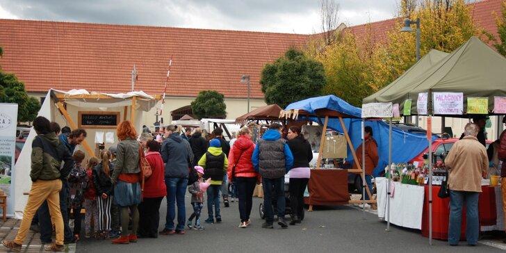 Sladký jarmark: Vstupenky na Cukrové slavnosti v Dobrovici pro dvě osoby