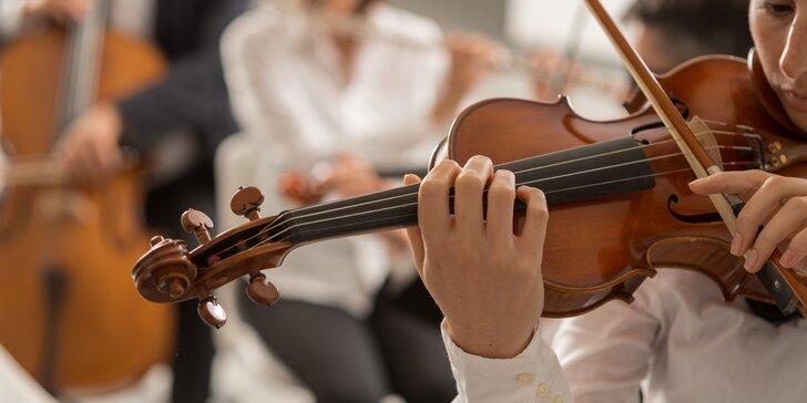 Vstupenka na koncert Velcí mistři v Křišťálovém sálu Kaiserštejnského paláce