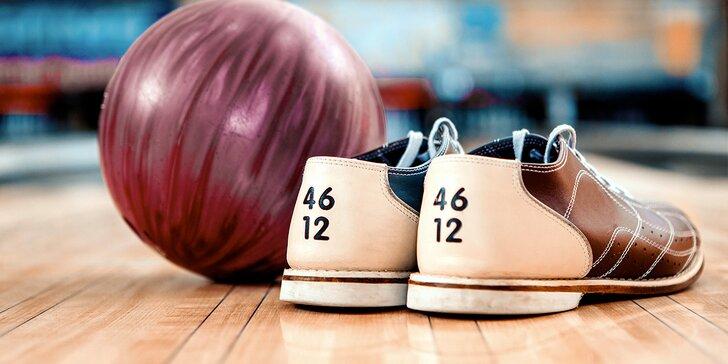 Tohle bude mít koule: pronájem bowlingové dráhy na 120 minut