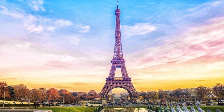 Podzimní či jarní Paříž: letenky, 3 noci v hotelu a průvodce pro malou skupinu