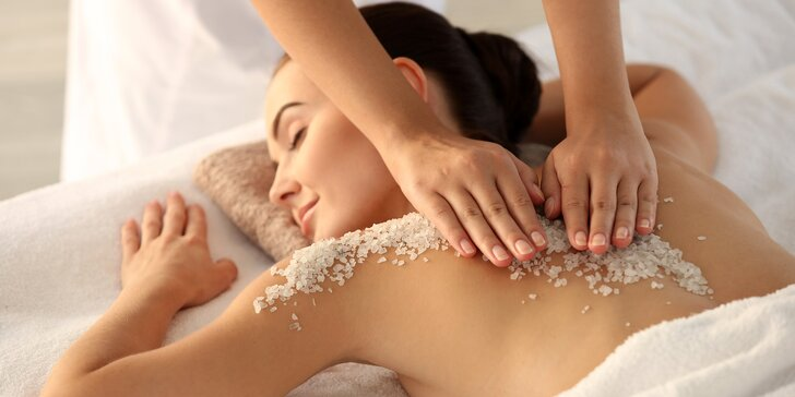Vouchery v hodnotě až 2000 Kč na masáže, zábaly a další wellness procedury