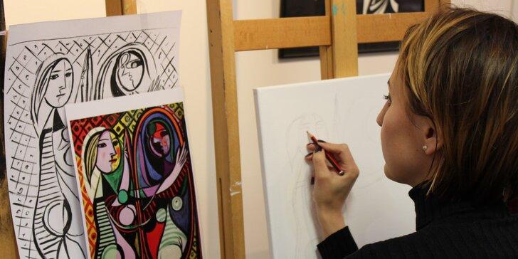 Zapojte pravou mozkovou hemisféru: 1 nebo 10 lekcí na workshopu kreslení