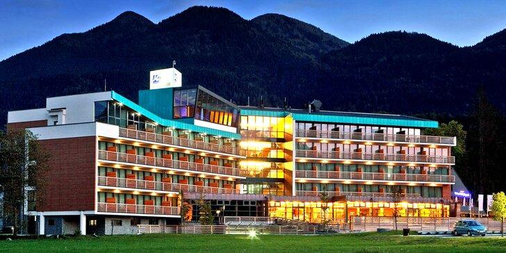 Aktivní pobyt plný relaxu: 4* hotel s aquaparkem v srdci Julských Alp pro dva