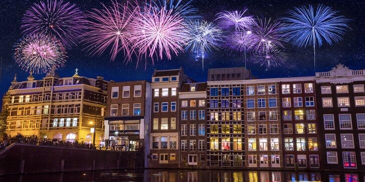 Prožijte Silvestr v Amsterdamu v jednom z nejživějších měst Evropy