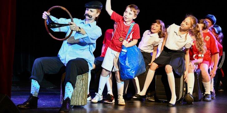 Vstupenka na dětský muzikál Pozor, padá šiška v sobotu odpoledne