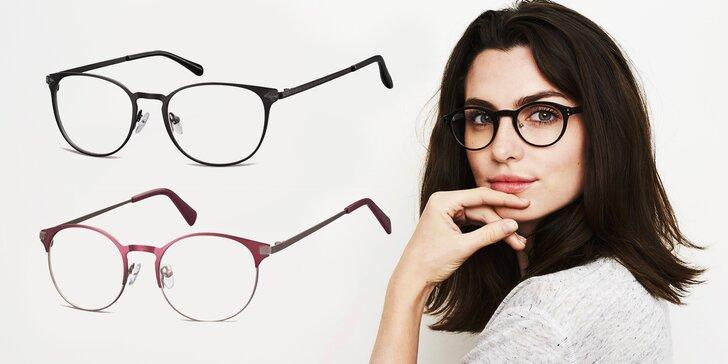 Vyberte si obruby na dioptrické brýle: otevřený voucher v hodnotě 1 000 Kč