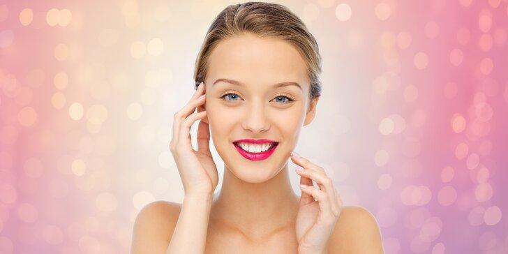 Luxusní kosmetická ošetření obličeje a dekoltu dle typu pleti