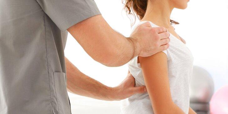 Individuální cvičení pro zdravá záda včetně doporučení na domácí cvičení
