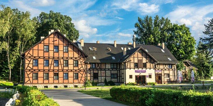 Relaxační wellness pobyt na Knížecím statku polského zámku Kliczków