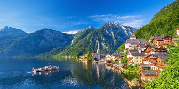 Kouzelný Hallstatt: krásná příroda, solné doly nebo plavba po jezeře