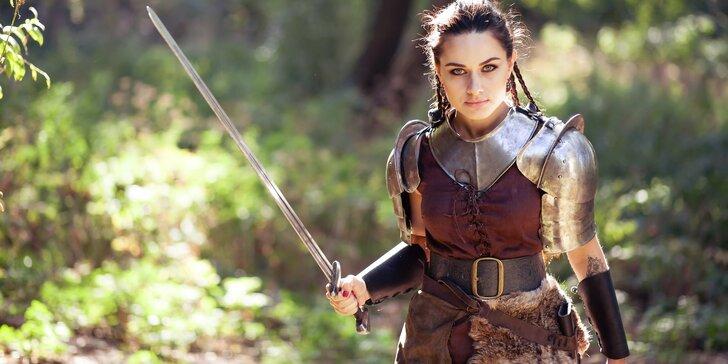 Středověká outdoorová bitva na motivy Hunger Games až pro 12 hráčů