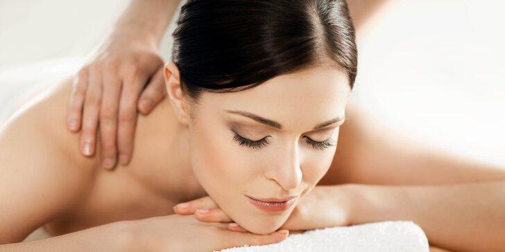 Ochutnávka regenerační masáže zad a šíje v délce 30 minut