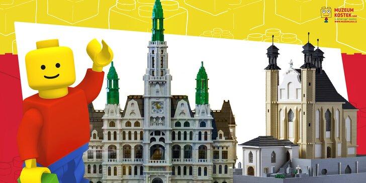 Vstup do Muzea kostek LEGO® pro děti i dospělé: modely i prostor na hraní