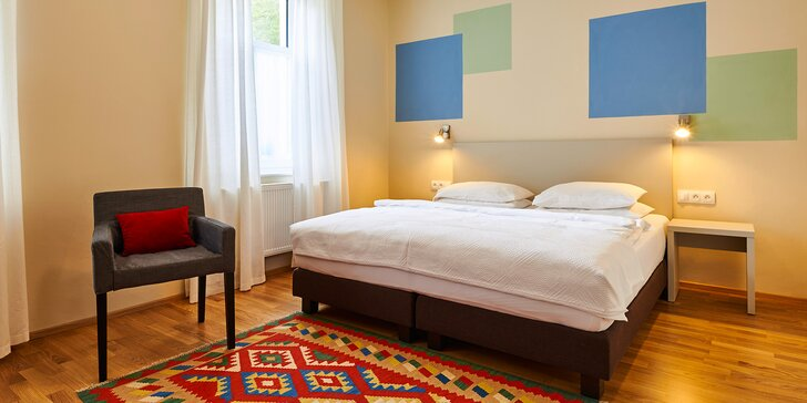Sladké dny v Mariánských Lázních: relaxační pobyt ve 4* hotelu s polopenzí