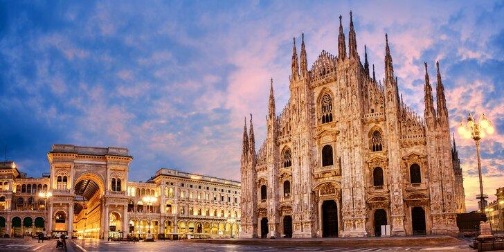 Miláno, město módy: autobusová doprava, památky s průvodcem i nákupy