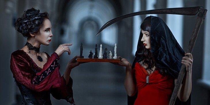 Tajemství upířího sklepení: Mrazivá únikovka Chess KEY Room až pro 5 osob